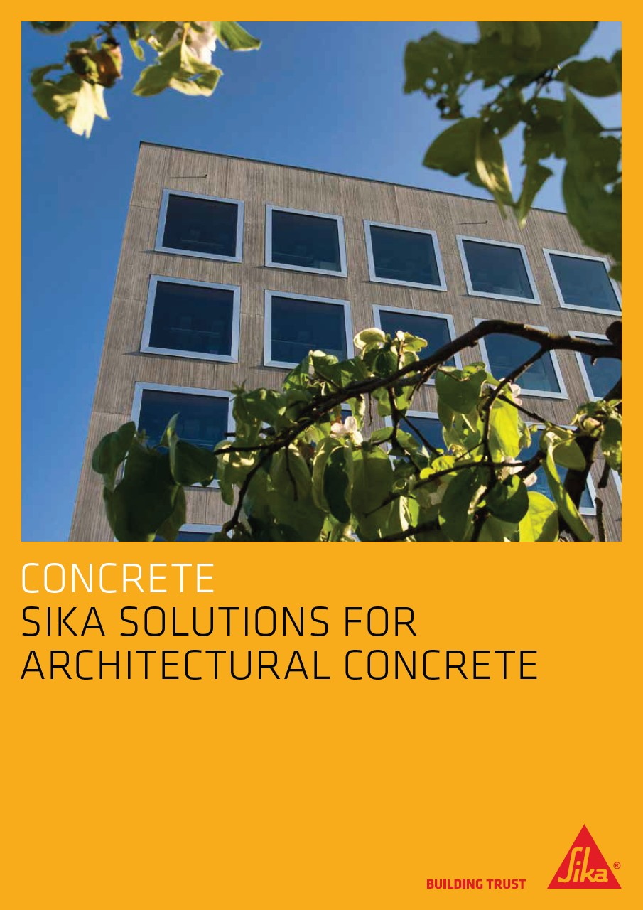 Sika Solutions for Architectural Concrete